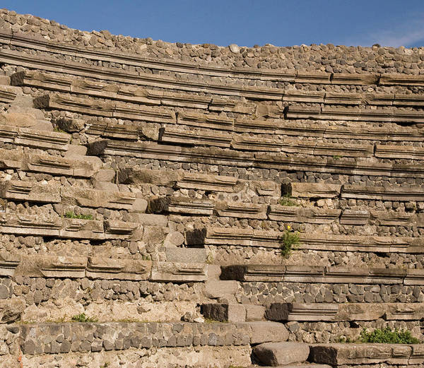 Amphitheater Wall Art - Photograph - Italy, Campania, Pompeii by Jaynes Gallery