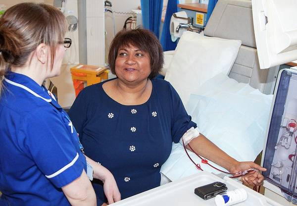 Shares Photograph - Shared Care Dialysis Unit by Life In View