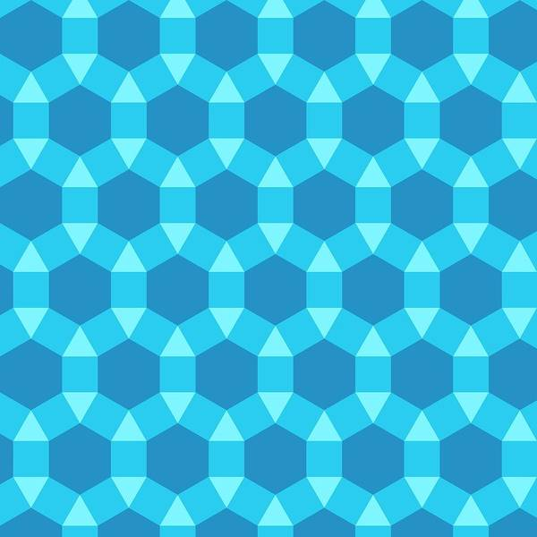 Wall Art - Photograph - Uniform Tiling Pattern by Science Photo Library