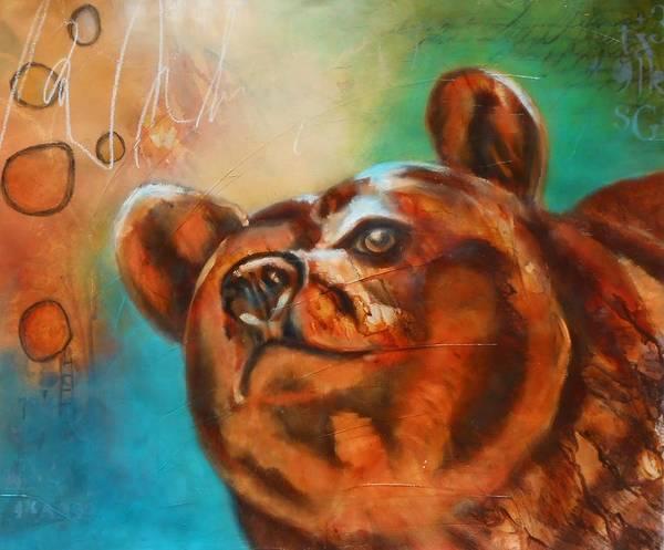 Wall Art - Painting - 20 X 24 Otis 2 - Keen Of Hearing by Susan Goh