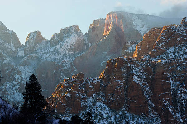 Chasm Photograph - Zion National Park, Utah by Scott T. Smith