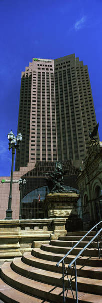 Cleveland Scene Photograph - 200 Public Square Building On Public by Panoramic Images