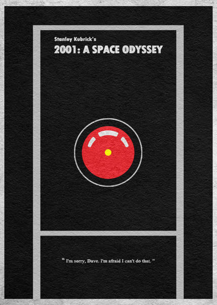 Wall Art - Digital Art - 2001 A Space Odyssey by Inspirowl Design