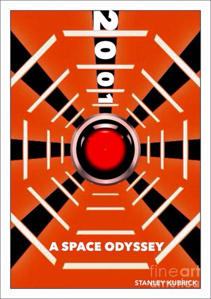 Digital Art - 2001 A Space Odyssey Personal Movie Poster by Helge