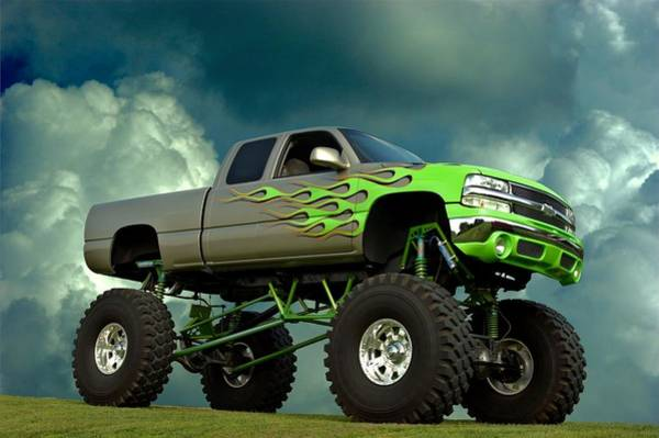 Photograph - 2002 Chevrolet Monster Truck by Tim McCullough