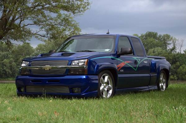 Photograph - 2004 Chevrolet Pickup Truck by Tim McCullough