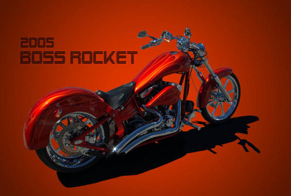 Photograph - 2005 Boss Rocket Motorcycle by Tim McCullough