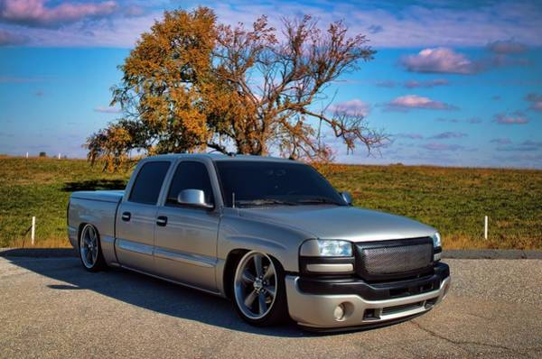 Photograph - 2005 Gmc Sierra 1500 Hd Crew Cab by Tim McCullough