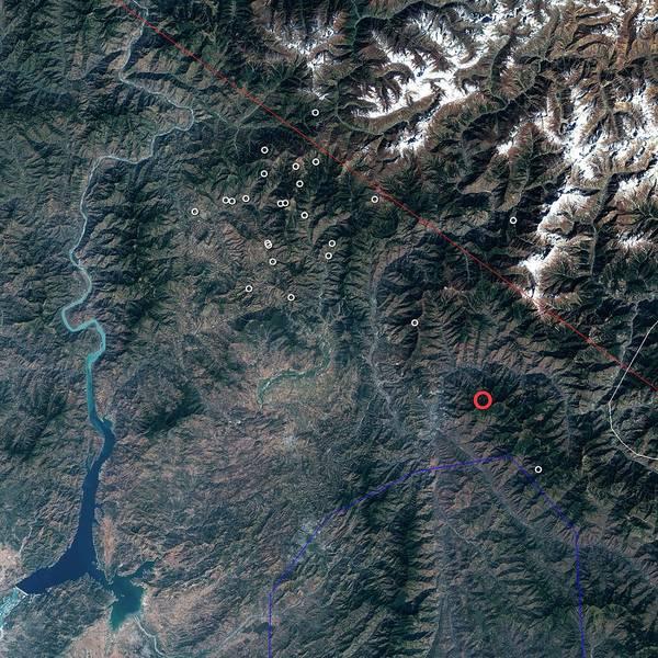 Wall Art - Photograph - 2005 Kashmir Earthquake by Nasa/science Photo Library