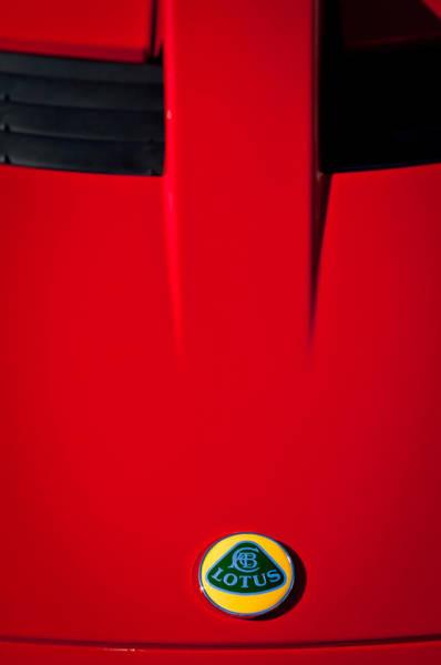 Photograph - 2005 Lotus Elise -0580c by Jill Reger