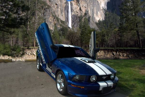 Gs Photograph - 2006 Ford Mustang Custom Gt by Tim McCullough