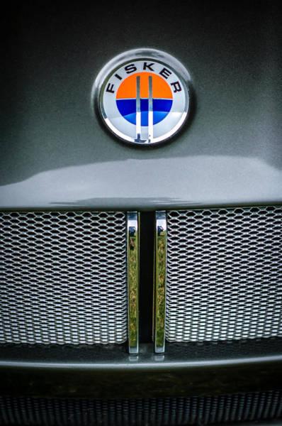 Photograph - 2006 Mercedes-benz Fisker Tramonto Convertible Emblem by Jill Reger
