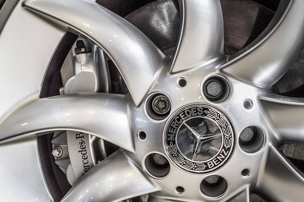 Photograph - 2006 Mercedes Benz Slr Mclaren Wheel by Ron Pate