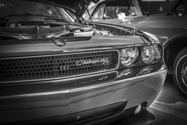 V8 Engine Photograph - 2008 Dodge Challenger  by Rich Franco