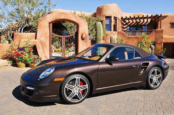 Photograph - 2008 Porsche Turbo Cabriolet  by Jill Reger