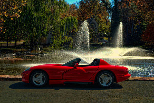 Photograph - 2009 Dodge Viper Zt 10 by Tim McCullough