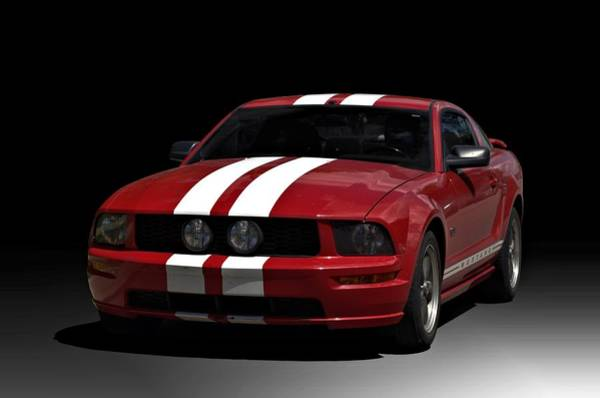 Photograph - 2009 Ford Mustang Gt by Tim McCullough