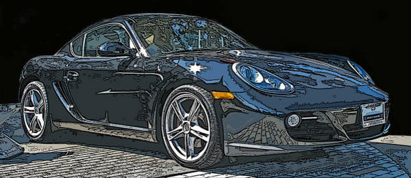 Photograph - 2009 Porsche Cayman by Samuel Sheats