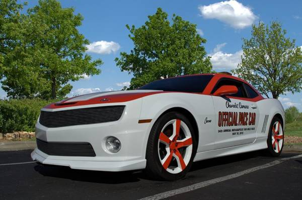 Photograph - 2010 Camaro Indy Pace Car by Tim McCullough
