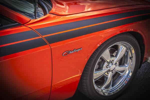 V8 Engine Photograph - 2010 Dodge Challenger Rt Hemi by Rich Franco