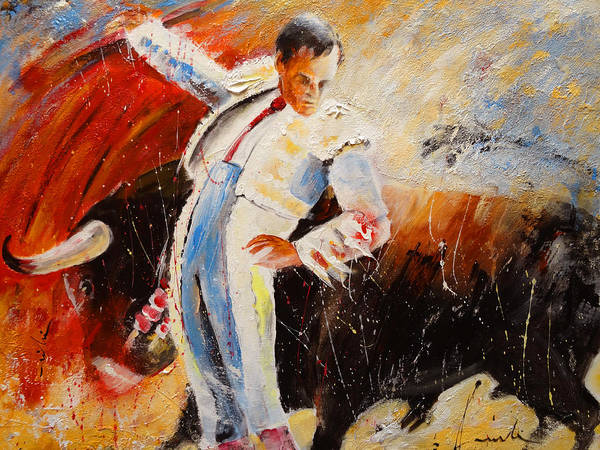 Painting - 2010 Toro Acrylics 04 by Miki De Goodaboom