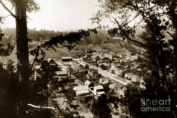 Photograph - 2011-007-0009 Cambria San Luis Obispo County Circa 1905 by California Views Archives Mr Pat Hathaway Archives
