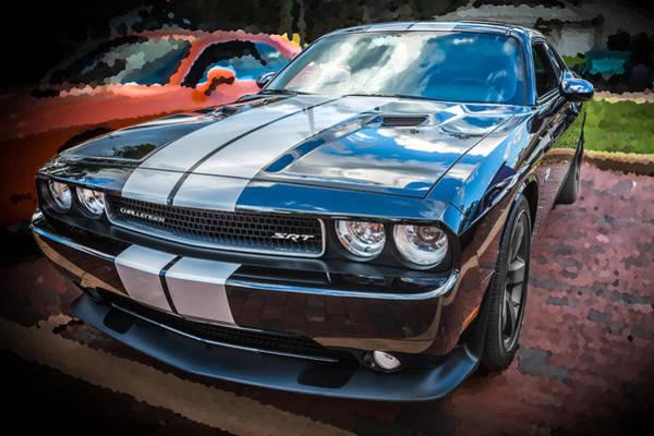 V8 Engine Photograph - 2011 Dodge Challenger Srt  by Rich Franco