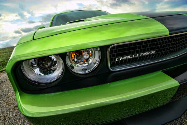 Brembo Photograph - 2011 Dodge Challenger Srt8 Green With Envy by Gordon Dean II