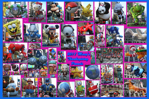 Photograph - 2011 Macy's Thanksgiving Parade by Steven Spak