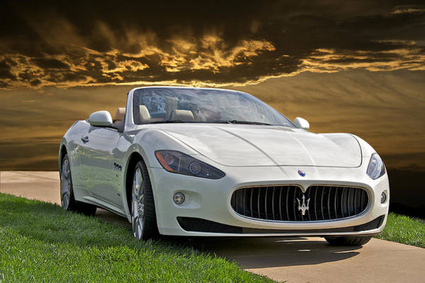 Wall Art - Photograph - 2011 Maserati Gran Turismo Convertible II by Dave Koontz