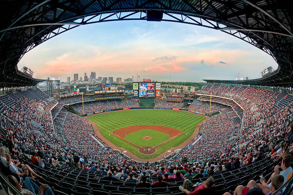 Photograph - 2011 Turner Field by Mark Whitt