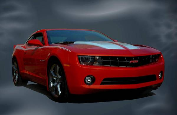 Photograph - 2012 Camaro Rs by Tim McCullough