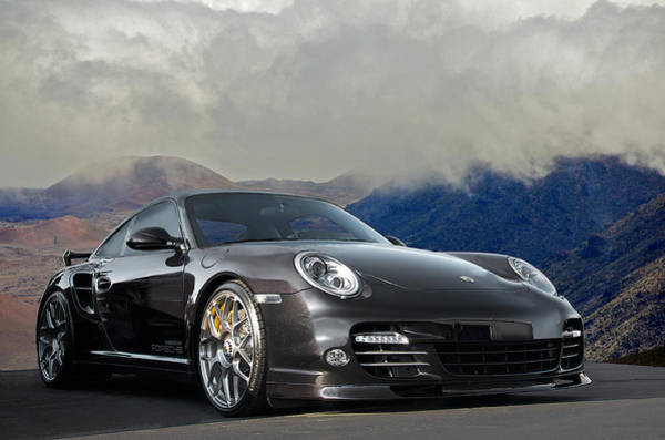Wall Art - Photograph - 2012 Porsche Turbo S by Dave Koontz