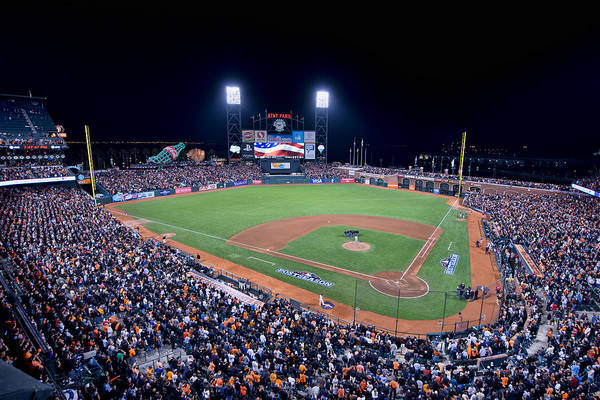 Photograph - 2012 San Francisco Giants Nlcs by Mark Whitt