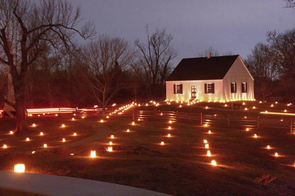 Luminaries Photograph - 2013 Antietam - Dunker Church by Judi Quelland