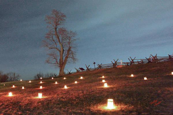 Luminaries Photograph - 2013 Antietam Near Bloody Lane by Judi Quelland