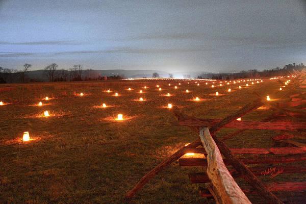 Luminaries Photograph - 2013 Antietam Near The Cornfield by Judi Quelland