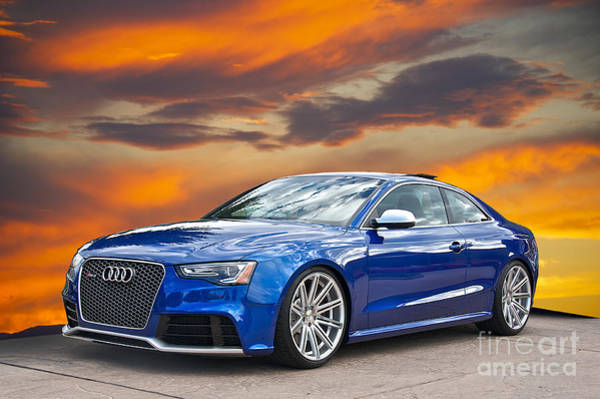 Wall Art - Photograph - 2013 Audi Rs5 Sports Coupe by Dave Koontz