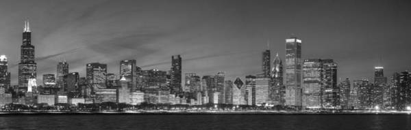 Wall Art - Photograph - 2013 Black And White Chicago by Donald Schwartz