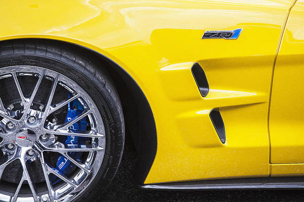 Mag Wheels Wall Art - Photograph - 2013 Chevy Corvette Zr1 by Rich Franco