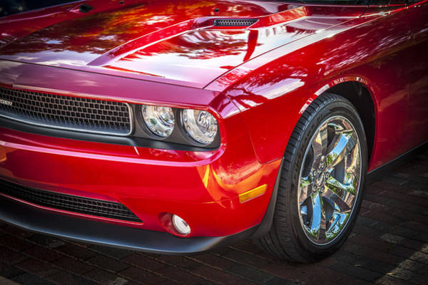 V8 Engine Wall Art - Photograph - 2013 Dodge Challenger by Rich Franco