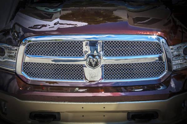 Heavy Duty Truck Wall Art - Photograph - 2013 Dodge Ram 2500 Hd by Rich Franco