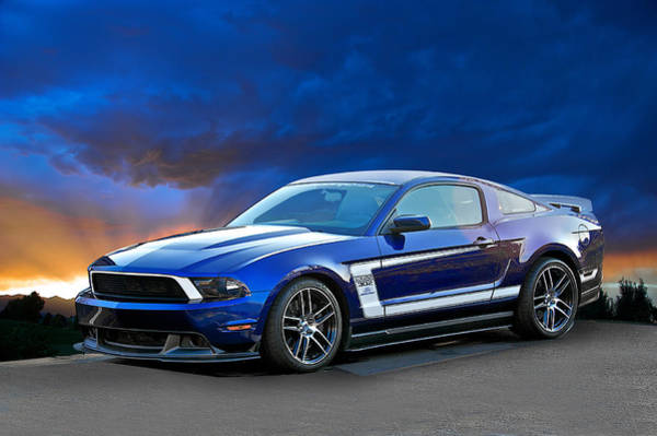 Wall Art - Photograph - 2013 Ford Mustang Boss 302 by Dave Koontz