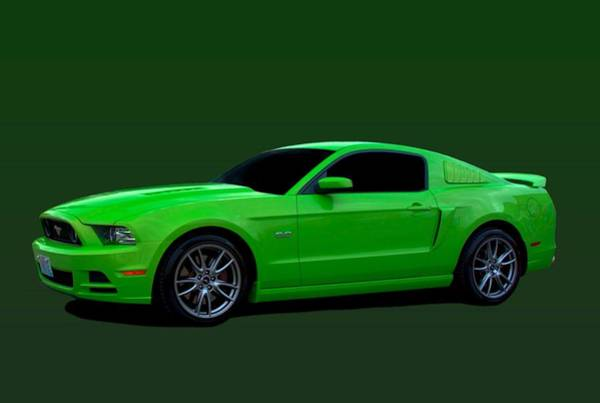 Photograph - 2013 Ford Mustang  by Tim McCullough