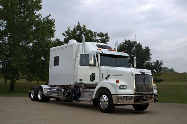 Photograph - 2013 Western Star Ex Custom Sleeper Semi Truck by Tim McCullough