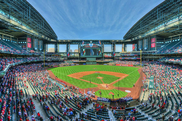 Photograph - 2014 Chase Field - Arizona Diamondbacks by Mark Whitt
