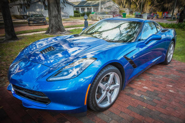 455 Photograph - 2014 Chevrolet Corvette C by Rich Franco