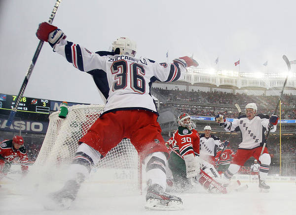 Ice Hockey Photograph - 2014 Coors Light Nhl Stadium Series - by Bruce Bennett