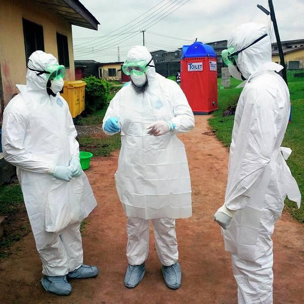 Nigeria Wall Art - Photograph - 2014 Ebola Virus Disease Outbreak by Cdc