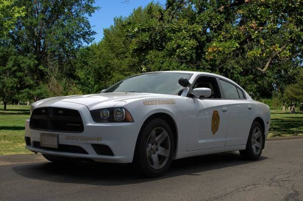 Photograph - 2014 Kansas Highway Patrol Dodge Charger Pursuit by Tim McCullough